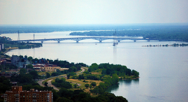 The North Grand Island Bridge in New York